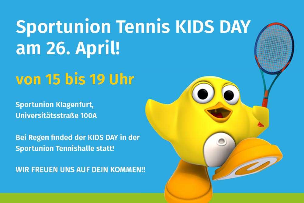 Kinder Tennis Klagenfurt Sportunion Kids Day