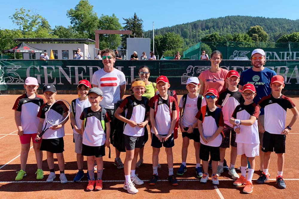Tennis Kinder Klagenfurt Sportunion 2020