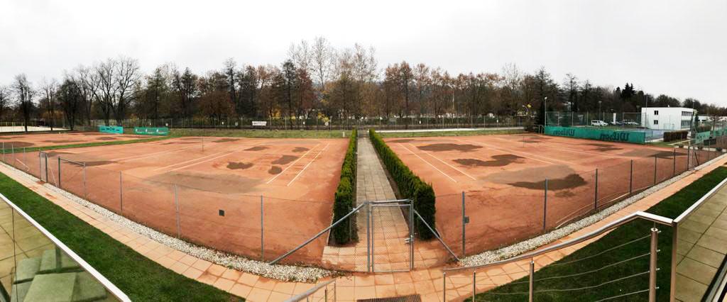 Tennisplatzeinwinterung Tennisplätze Union Klagenfurt