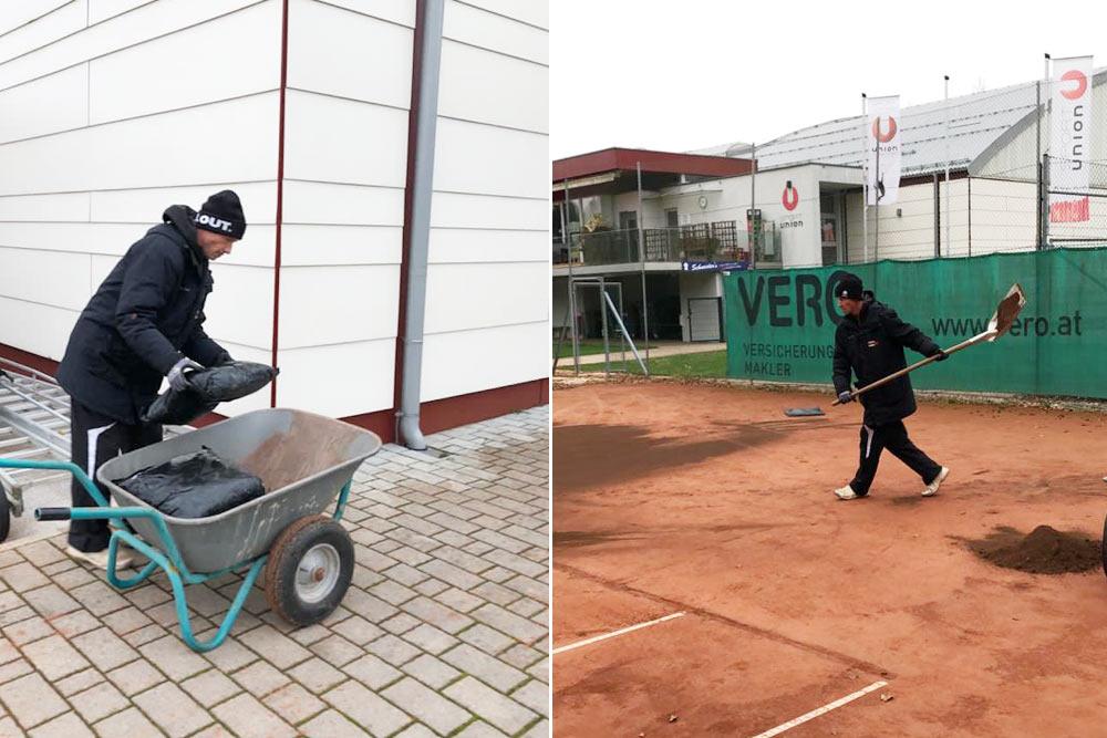 Tennisplatzeinwinterung-Sportunion-Klagenfurt-Tennis