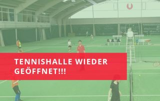 Sportunion Tennishalle geöffnet