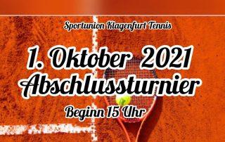 Tennis Abschlussturnier 2021